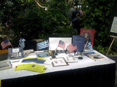 Display Table for American Phlhellenes
